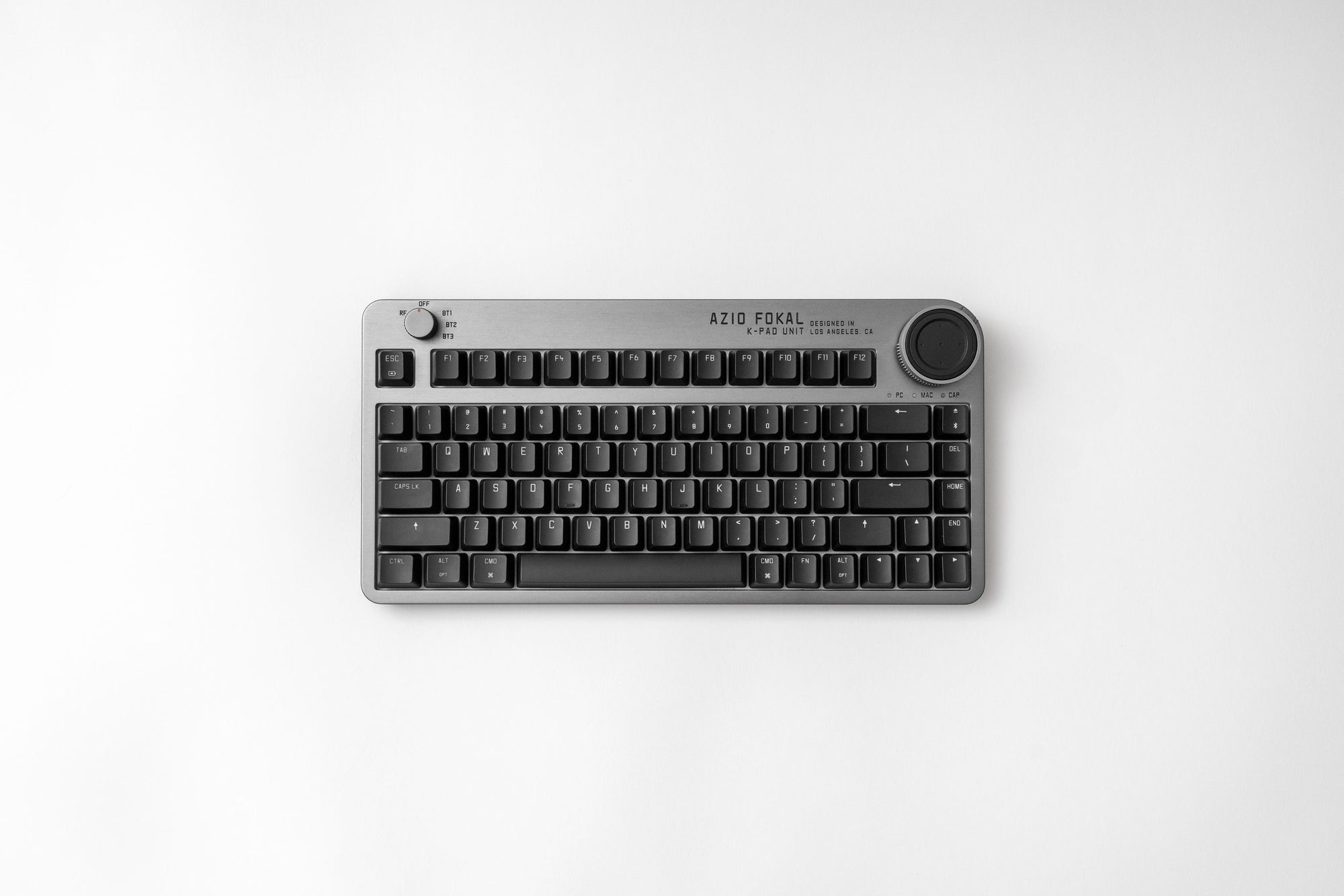 Press Release: Azio officially launches the Fokal Keyboard on Indiegogo