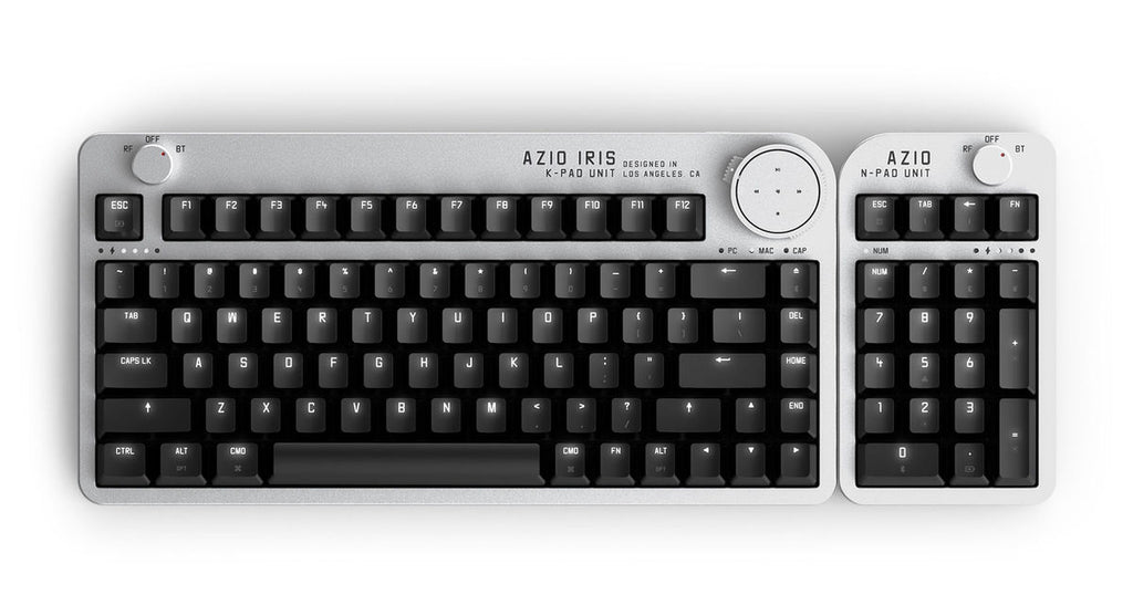 MYSMARTPRICE: AZIO & SteelSeries Showcase Interesting New Mechanical Keyboards At Computex 2019