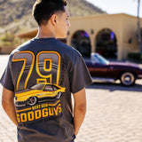 mens' goodguys 1979 mustang pace car t-shirt