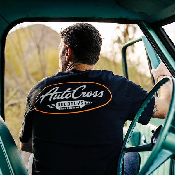 goodguys black autocross tee