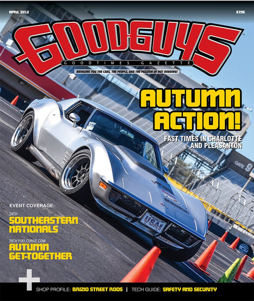 2018 april Goodguys goodtimes gazette - front