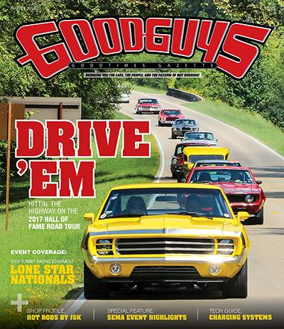 2018 march Goodguys goodtimes gazette - front