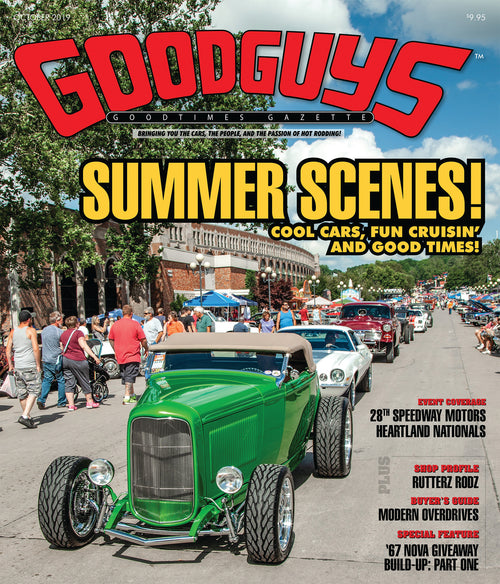 October 2019 Goodguys Goodtimes Gazette