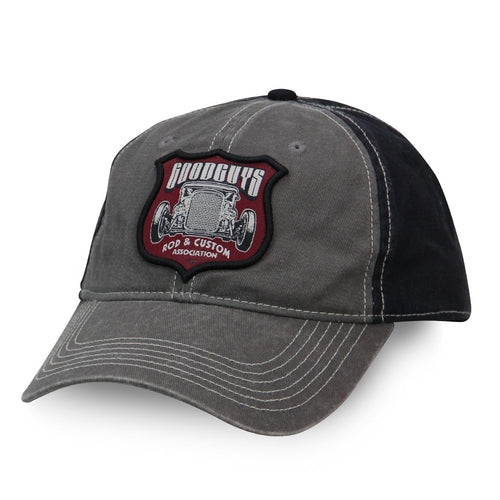 ROD SHIELD SNAPBACK HAT-Men's Hats-Shop Goodguys