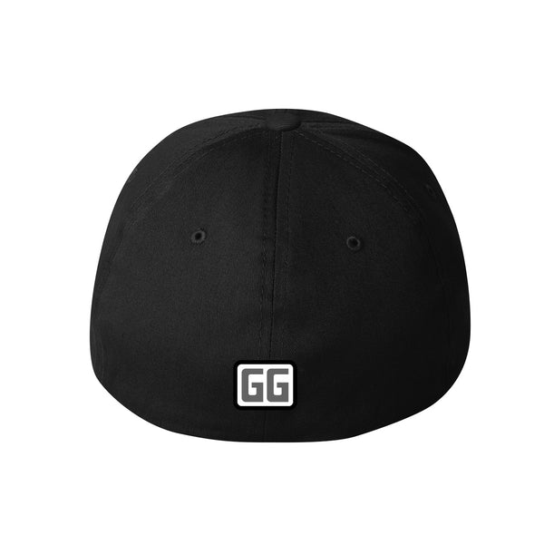Gg Grey Flexfit Hat
