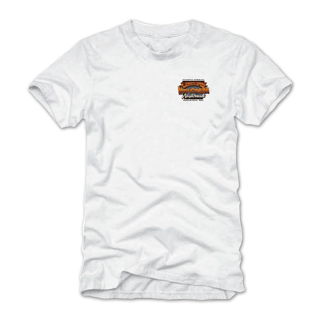 2018 north carolina nationals raleigh white T-shirt - back