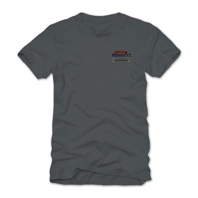 Nashville Nationals 2018 Gray Event Exclusive Tee Goodguys