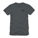 2018 nashville nationals gray T-shirt - back