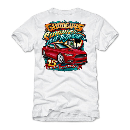 Summer Get Together 2018 White Event Exclusive T-Shirt Goodguys