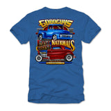 East Coast Nationals 2018 Royal Blue Event Exclusive T-Shirt Goodguys