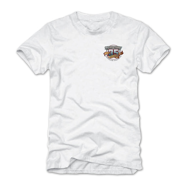 2018 heartland nationals des moines white T-shirt - back