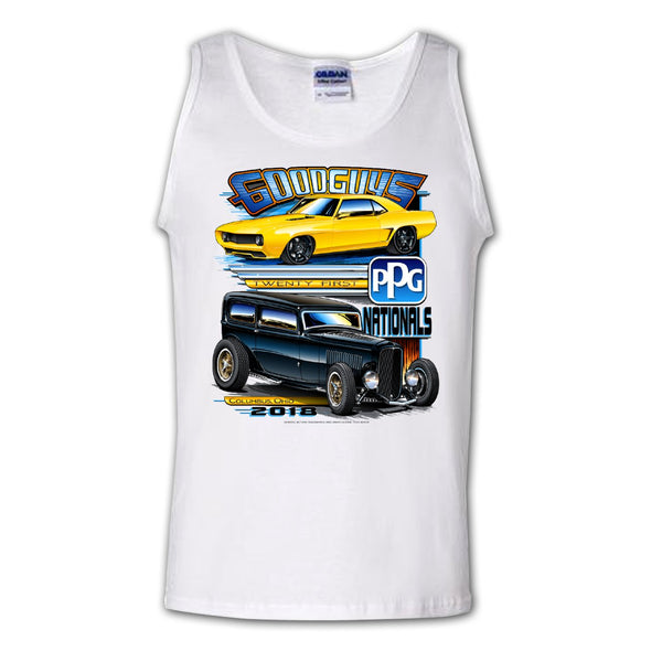 2018 ppg nationals columbus men's tank top - front