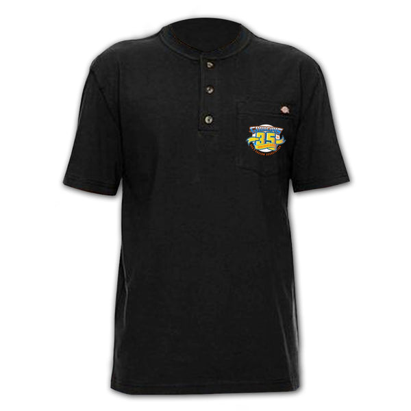 21st PPG Nationals 2018 White Event Exclusive Henley Goodguys Shirt