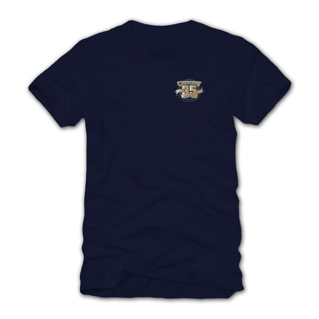 2018 great northwest nationals spokane navy blue T-shirt - back