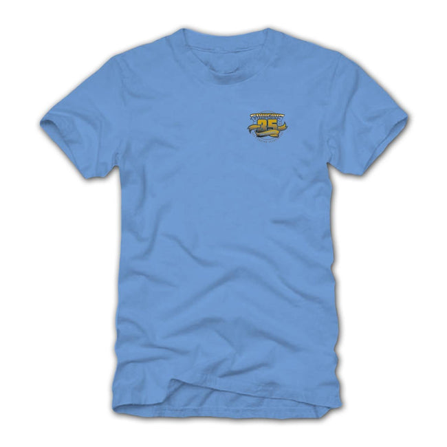 2018 west coast nationals pleasanton blue T-shirt - back