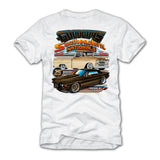 goodguys fall 2018 southeastern nationals concord white t-shirt - front