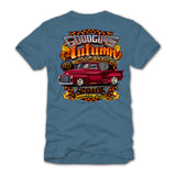 goodguys autumn 2018 get together pleasanton blue t-shirt  - front