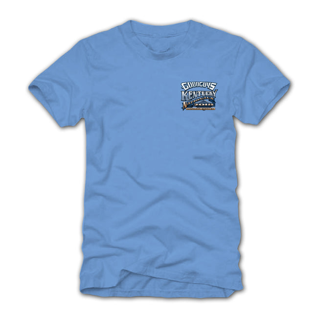 goodguys fall 2018 kentucky nationals lexington blue t-shirt - back
