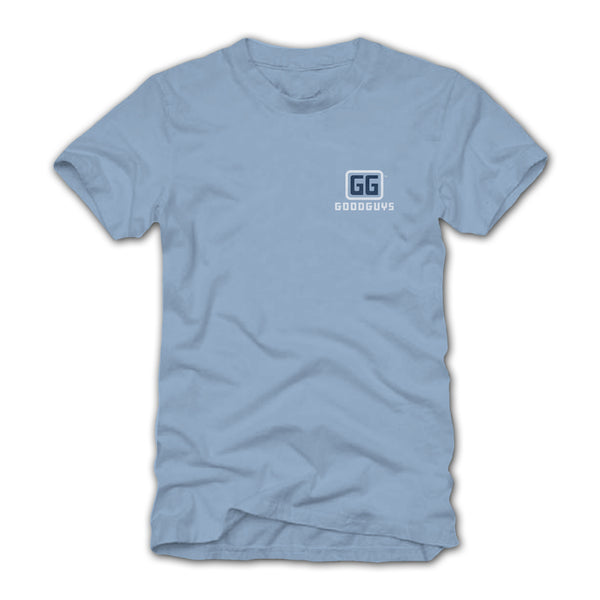 Goodguys Men's Good Bronco Blue T-Shirt - Front