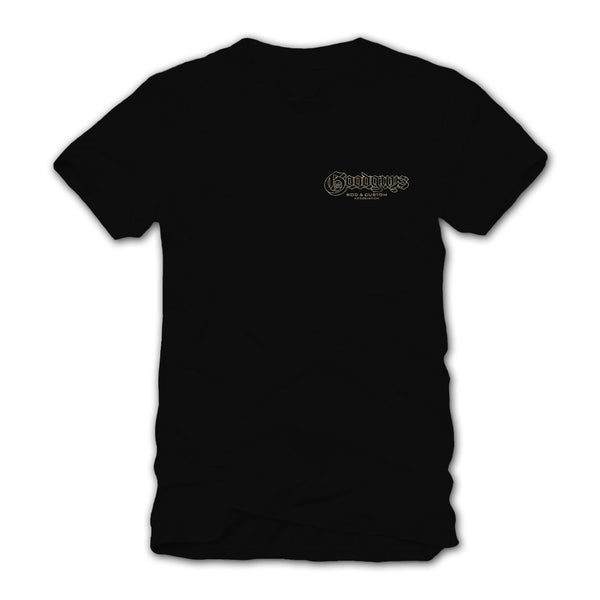 Goodguys Mens Lowrider Black Tee - Front