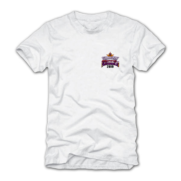 2019 SPRING NATIONALS WHITE EVENT EXCLUSIVE T-SHIRT-Event Exclusives-Shop Goodguys