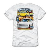 2019 SPRING LONE STAR FORT WORTH WHITE EVENT EXCLUSIVE T-SHIRT-Event Exclusives-Shop Goodguys