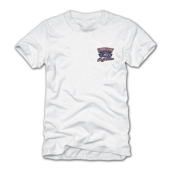 2019 ALL AMERICAN GET-TOGETHER WHITE EVENT EXCLUSIVE T-SHIRT-Event Exclusives-Shop Goodguys