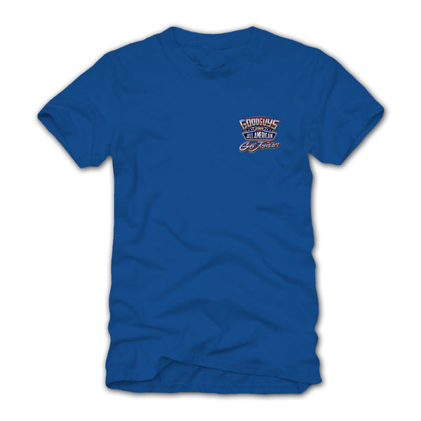 2019 ALL AMERICAN GET-TOGETHER BLUE EVENT EXCLUSIVE T-SHIRT-Event Exclusives-Shop Goodguys