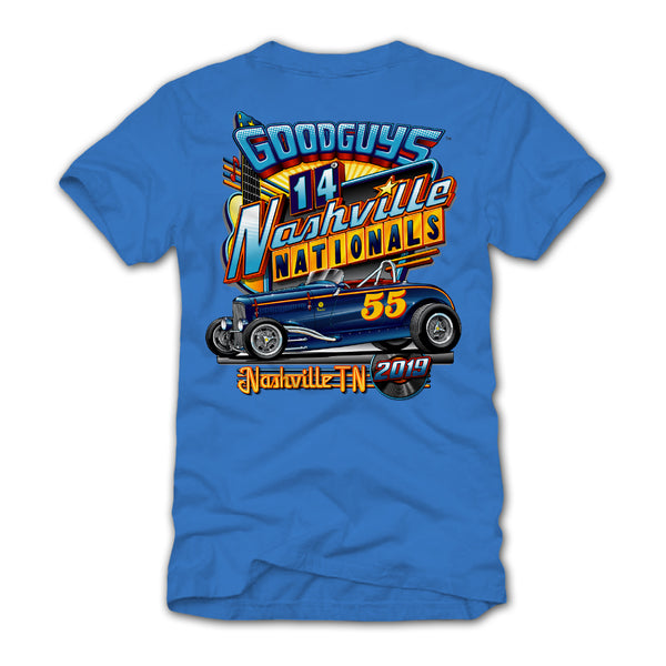 2019 NASHVILLE IRIS EVENT EXCLUSIVE T-SHIRT-Event Exclusives-Shop Goodguys