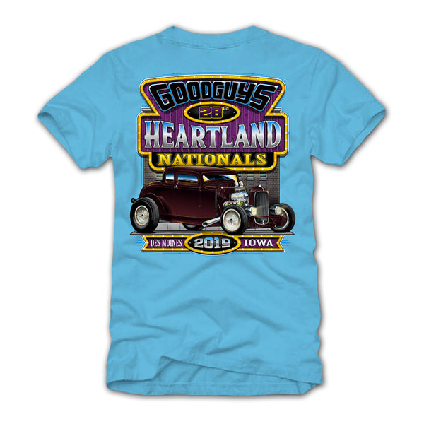 2019 Heartland Nationals Blue Event Exclusive T-Shirt
