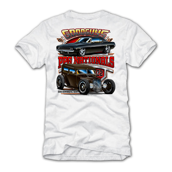 2019 Ppg Nationals White Event Exclusive T-Shirt