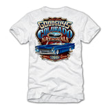 Goodguys 2019 Colorado Nationals White Event Exclusive T-Shirt - Back
