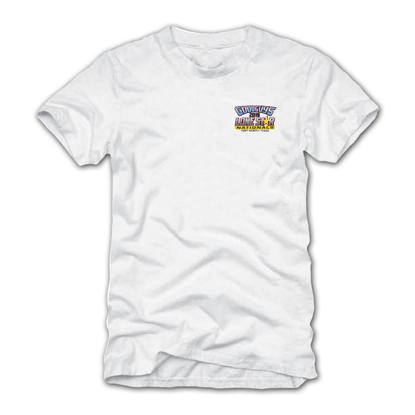 Goodguys 2019 Fall Lone Star Nationals White Event Exclusive T-shirt - Front