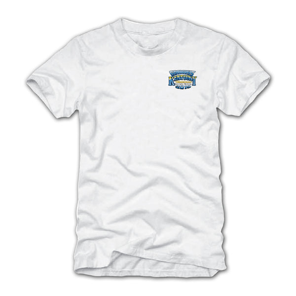 Goodguys 2019 Kentucky Nationals White Event Exclusive T-shirt - Front