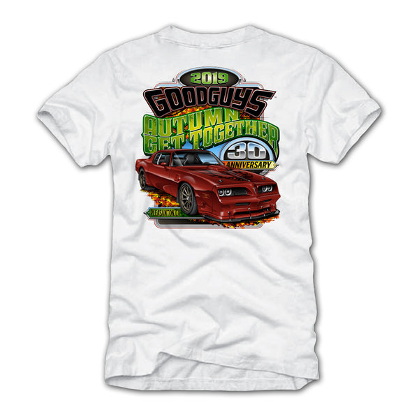 Goodguys 2019 Autumn Get Together White Event Exclusive T-shirt - Back