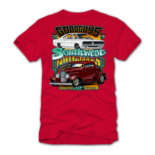 2019 Fall Southwest Nationals Red Event Exclusive T-Shirt