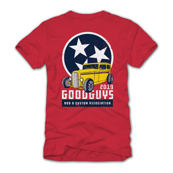 2019 TENNESSEE SUPER EXCLUSIVE T-SHIRT-Event Exclusives-Shop Goodguys