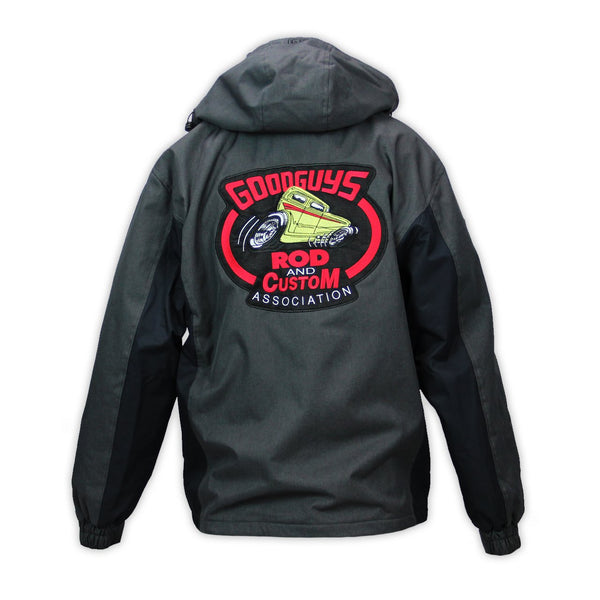 Goodguys Grand Hooded Jacket Black - Back