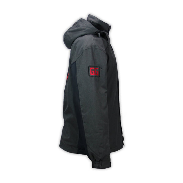 Goodguys Grand Hooded Jacket Black - Side