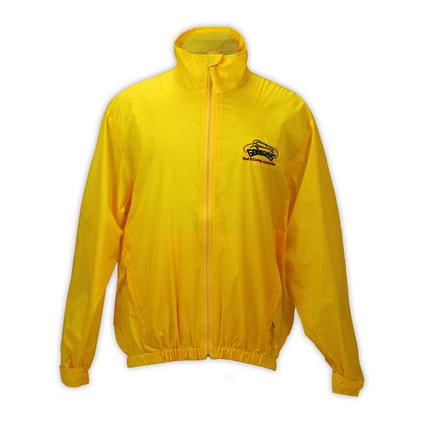 YELLOW FULL ZIP SHELL JACKET
