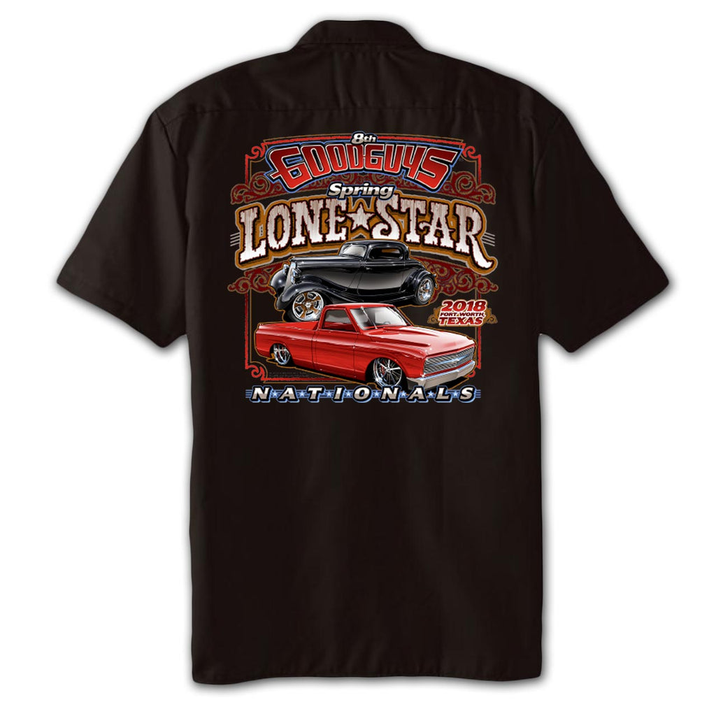 Lon star nationals 2018 event exclusive t shirt goodguys for Fort worth t shirt printing