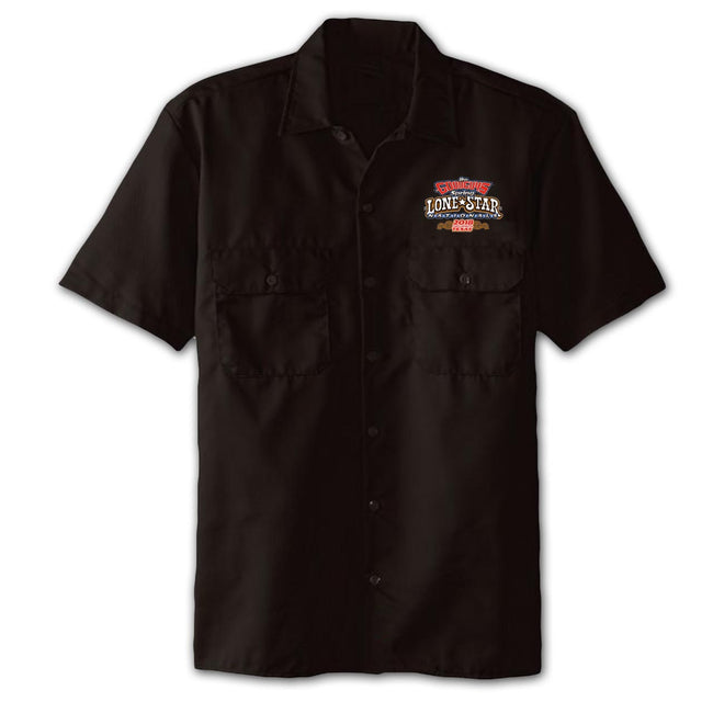 2018 spring lone star nationals fort worth men's garage shirt - back
