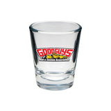 TRI LOGO SHOT GLASS-Novelties-Shop Goodguys
