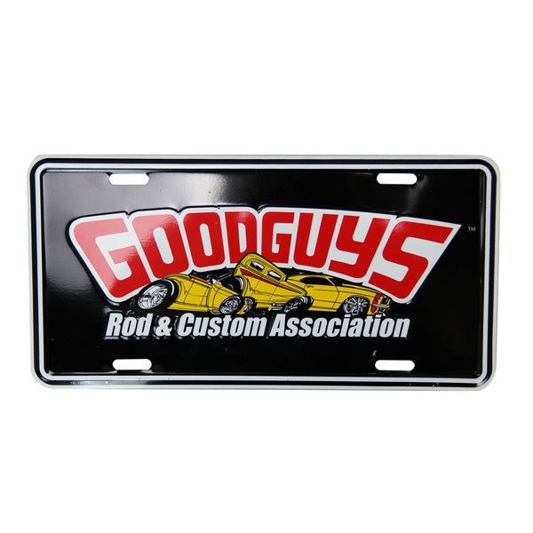 2019 LICENSE PLATE-Novelties-Shop Goodguys