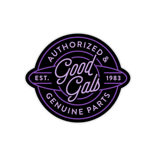 GENUINE PARTS DECAL-Novelties-Shop Goodguys