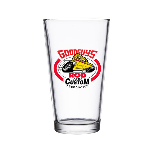 Sedan Pint Glass