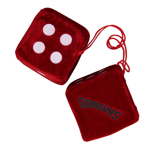 FUZZY DICE-Novelties-Shop Goodguys