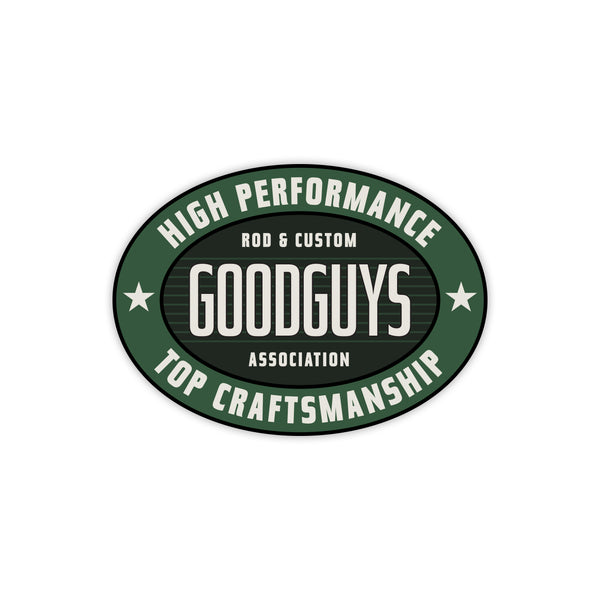 HIGH PERFORMANCE DECAL-Novelties-Shop Goodguys
