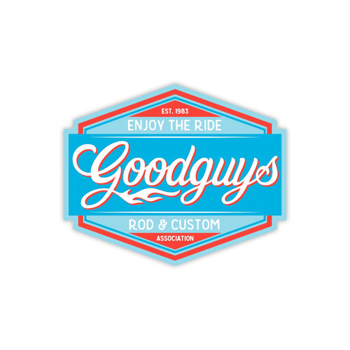 ROAD TRIP DECAL-Novelties-Shop Goodguys