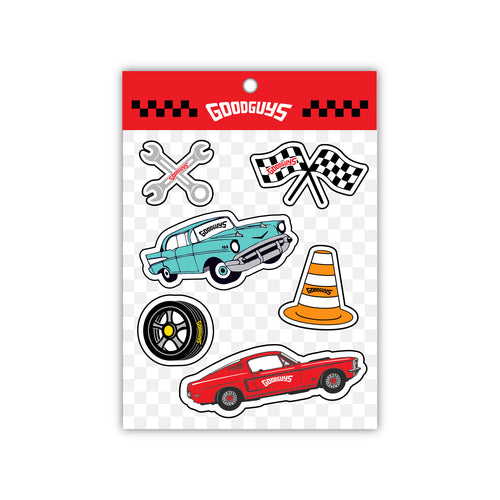 KIDS STICKER PACK-Novelties-Shop Goodguys